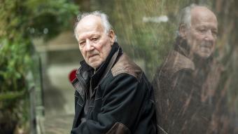 Werner Herzog, fotografiat ahir a Barcelona