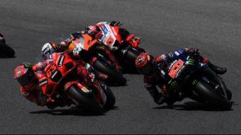 Bagnaia i Quartararo en el GP d'Itàlia