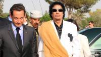 Muammar al-Gaddafi, en un acte el 2007 a Trípoli