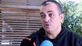 El portaveu d'Elite Taxi, Tito Álvarez