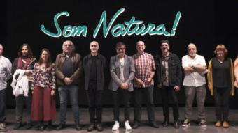 Foto de grup d'alguns dels músics implicat a la iniciativa