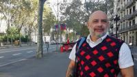 Ernest Morera, antic responsable del gimnàs social Sant Pau, és un dels impulsors del restaurant Pedra Petita