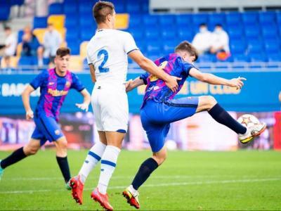 Una acció del partit jugat al Johan