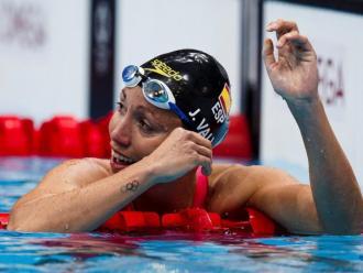 Jessica Vall , tot un referent de la natació catalana i espanyola