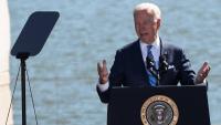 El president Joe Biden, durant un acte d'homenatge a Martin Luther King, dijous a Washington