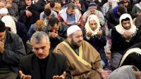 Pregària en una mesquita de Damasc per demanar que plogui
