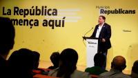 Junqueras , en un acte a Lleida organitzat per ERC de cara a les municipals