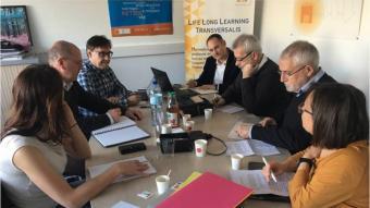 Una de les primeres reunions dels participants en el projecte