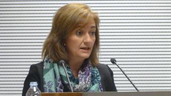 La directora de Divisió d'Anàlisi Pressupostari de l'Airef, Cristina Herrero.