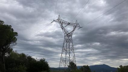 Una torre d'electricitat