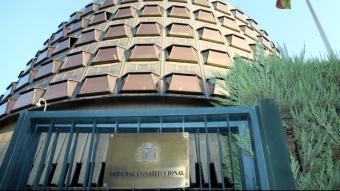 La seu del TC a Madrid
