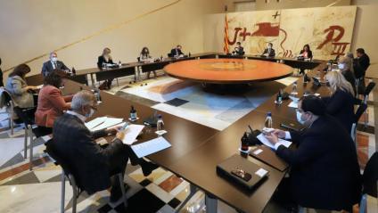 La reunió del consell executiu d'aquest dimarts 26 d'octubre
