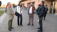 Testimonis a l'exterior de l'Audiència de Castelló