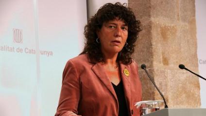 La consellera Teresa Jordà