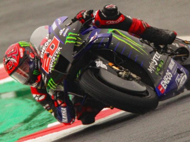 Fabio Quartararo en el circuit de Misano