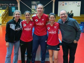 L'equip del Reus Ganxets Miró a Le Grand-Quevilly