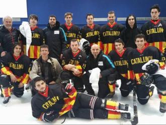 La selecció catalana masculina en una de les seves darreres aparicions