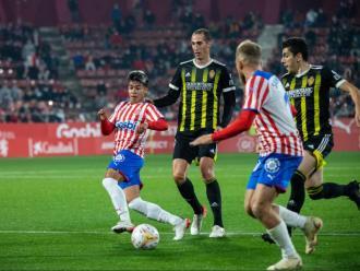 Dario Sarmiento va refrescar l'atac i va assistir Stuani