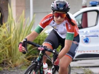 Sofia Gomes, amb la selecció  portuguesa
