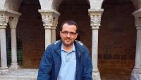 Martí Ferrer, al claustre del convent de monges benedictines de Sant Daniel, situat a la vall del mateix nom que es troba a l'est de la ciutat de Girona