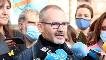 Josep Costa, a la sortida del TSJC