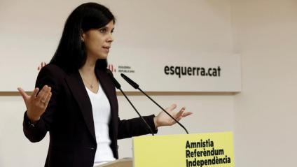 La secretària general adjunta d'ERC, Marta Vilalta