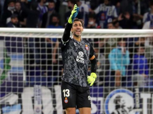Diego López es va convertir en l'heroi de la nit al RCDE Stadium Diego López es va convertir en l'heroi de la nit al RCDE Stadium