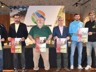 L'acte de presentació del campionat , dimarts a Calonge i Sant Antoni