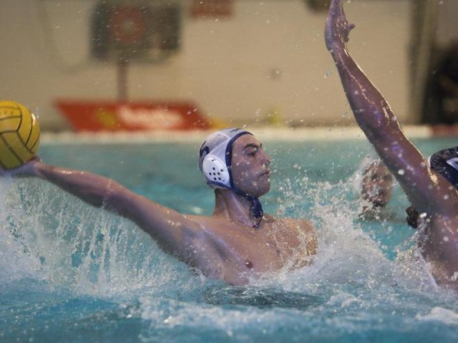 Bernat Sanahuja , un dels destacats amb 4 gols marcats a Can Llong