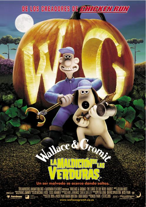 Wallace & Gromit: La maldición de las verduras
