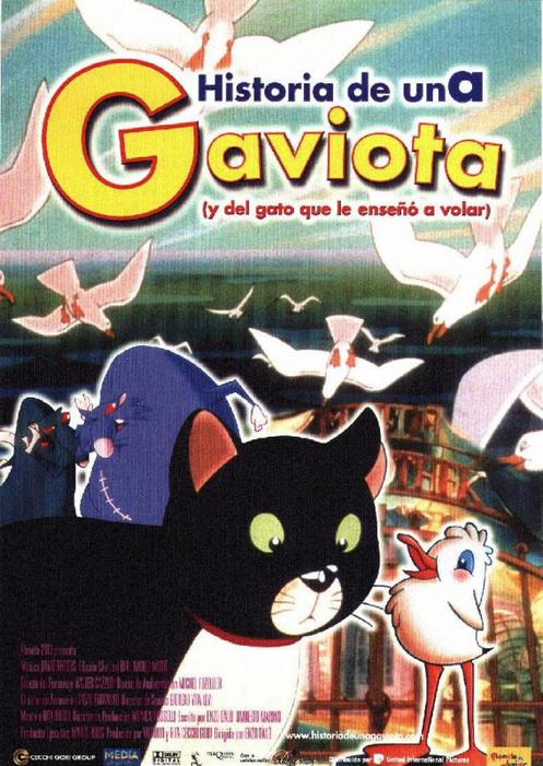 Història d'una gavina (i el gat que li va ensenyar a volar)