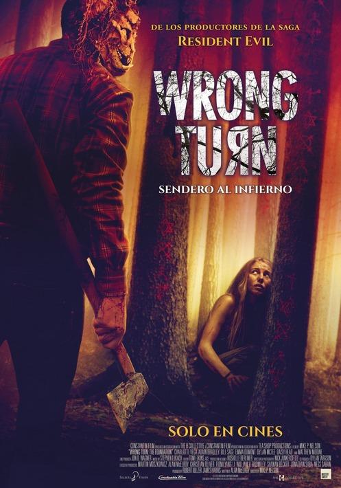 Wrong Turn: Camí a l'infern